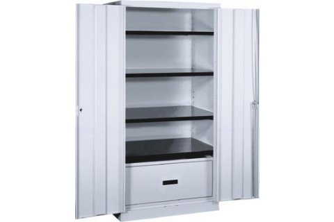 Stationary Lateral File Storage Cabinets