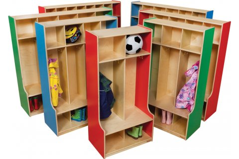 Preschool Wood Lockers