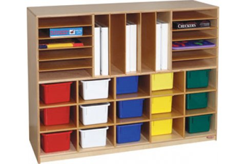 Wooden 1400 Series Multi-Storage