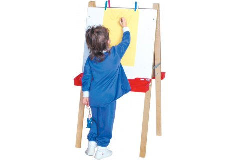 2-Sided Adjustable Height Easels