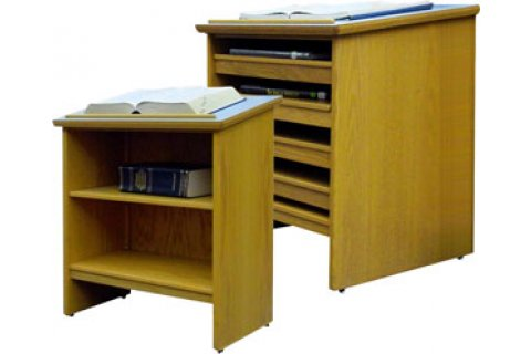 Russwood Atlas and Dictionary Stands