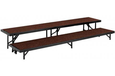 Portable Choral Riser Set- Carpeted