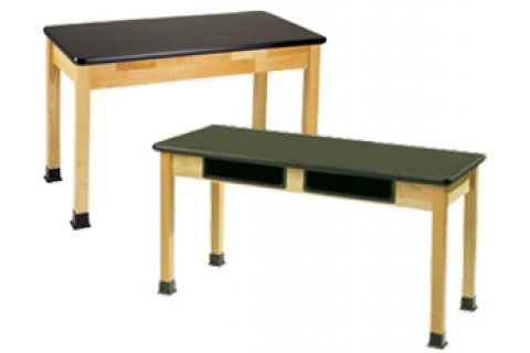 36H Science Bio Solid Phenolic Top Lab Tables by Allied