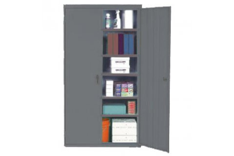 Stationary Steel Storage Cabinets