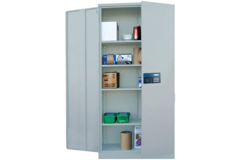 Steel Storage Cabinet with Keypad Lock