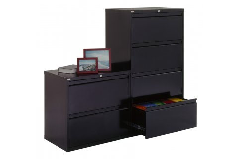 800 Series Lateral File Cabinets by Sandusky