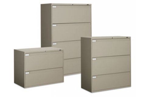 Full-Pull Lateral File Cabinet by Global