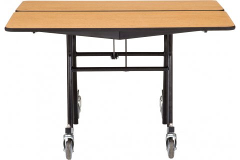 NPS Mobile Folding Square Cafeteria Tables