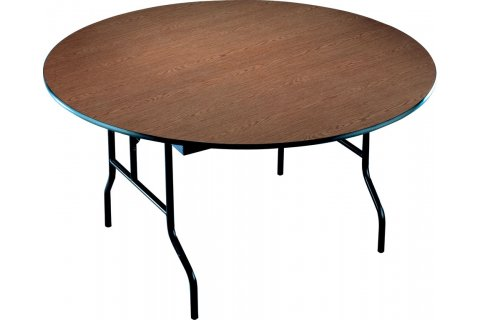 Plywood Core Round Folding Tables