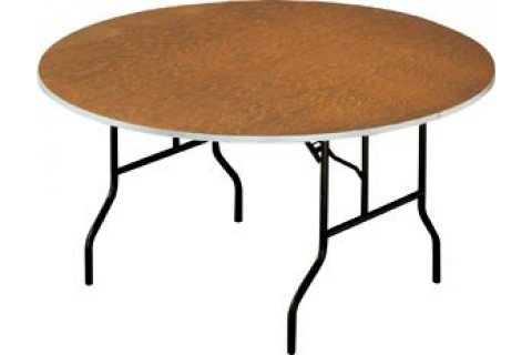 Round Plywood Banquet Folding Tables