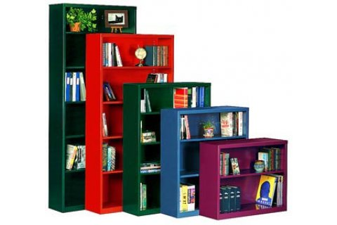 Steel Bookcases by Parent