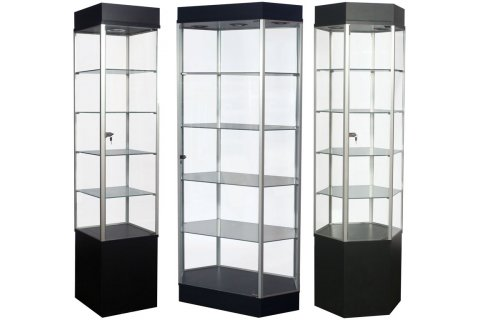 Trophy and Display Cases by Sturdy Store Displays