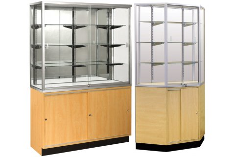 Wall Display Cases by Sturdy Store Displays