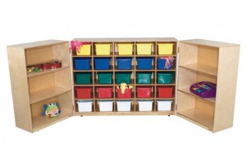 Wooden Tri Fold Storage