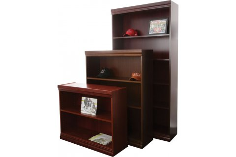 Traditional Veneer Bookcases