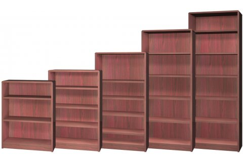 Radius Edge Laminate Bookcases