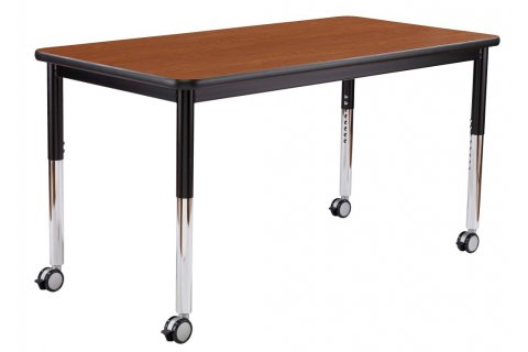 Dura Series Fully Welded Adjustable Classroom Tables