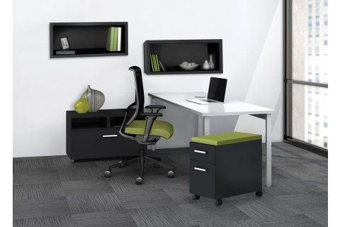 Mayline e5 Complete Office Furniture Collection