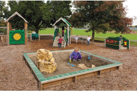 Earlyworks Preschool Garden Style Playground Equipment by ultraPLAY