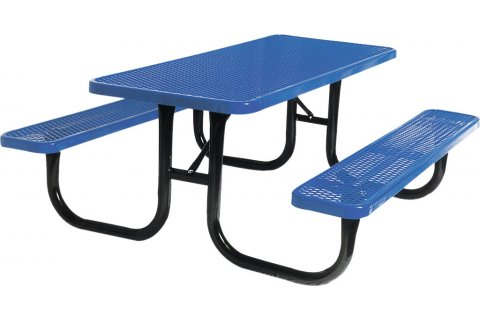 Rectangular Thermoplastic Picnic Tables