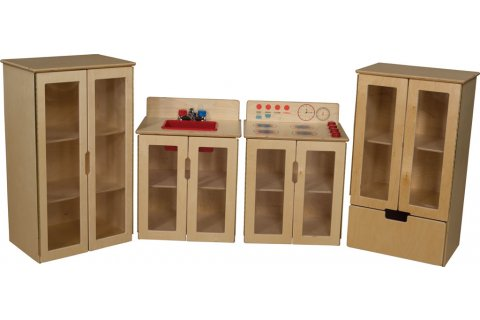 My Cottage Wooden Play Kitchen by Wood Designs