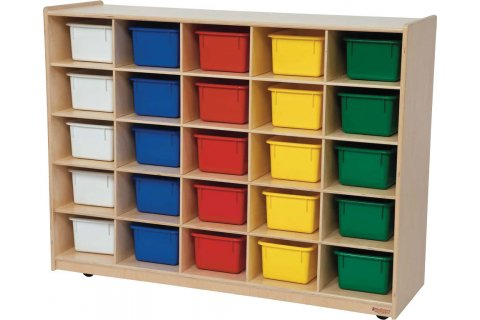 Tip-Me-Not Mobile Cubby Storage Units
