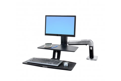 Ergotron Articulating Monitor Arm Sit/Stand Workstations