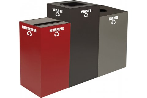 GeoCube Recycling Containers