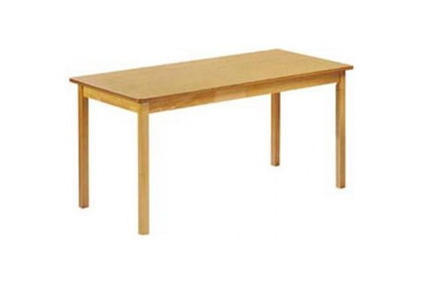 Wood Rectangular Library Tables