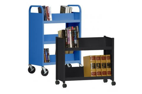 Welded Steel Book Carts