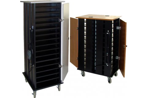 WoodWare Netbook and Tablet Carts