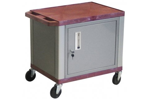 Tuffy AV Cabinet Carts