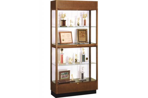 Heritage 2 Tier Display Cabinet