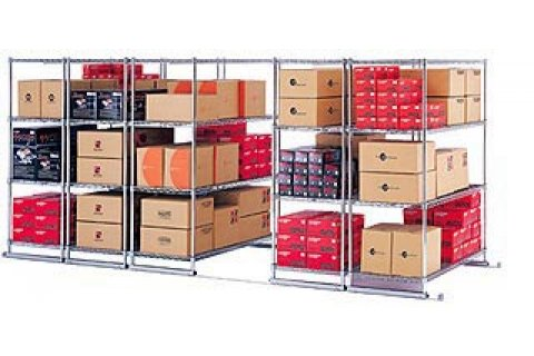 X5 Sliding Storage Shelf System