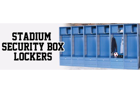 Stadium Security Box Sports Lockers