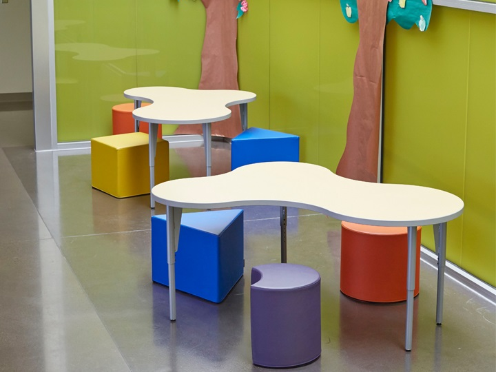 School Classroom Design Guide : The power of color in classroom design