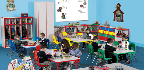 High Quality Preschool Furniture & Preschool Classroom Design Play a Pivotal Role in Children's Acquisition of Knowledge