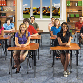 Proper Children's School Furniture Is Important in Preventing Future Vision Problems